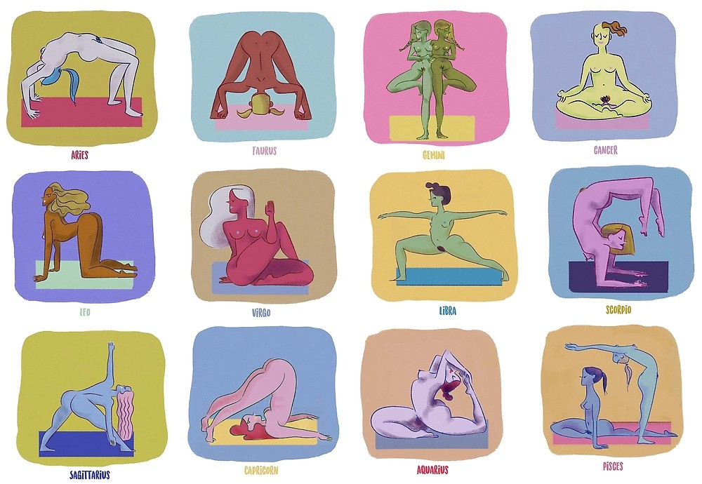joga, seksi, polozaji