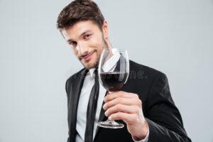 italijan sa vinom