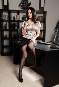 sexy mama poslovna žena